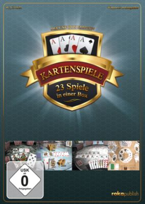 Kartenspiele 23 in 1 Deluxe Box Edition (PC)