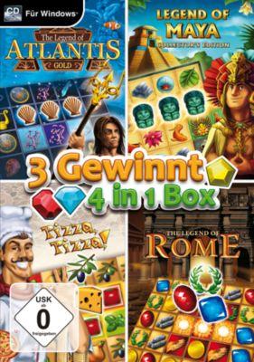 3 Gewinnt - 4in1 Box (PC)