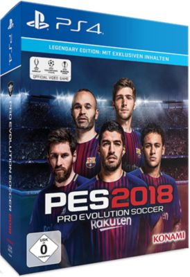 Pro Evolution Soccer 2018 Legendary Edition (PE...