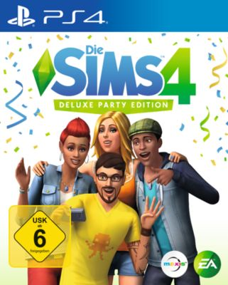 Die Sims 4 - Deluxe Party Edition (PS4)