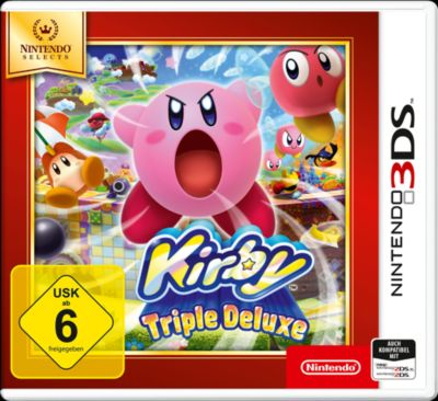 Kirby Triple Deluxe Selects (3DS)