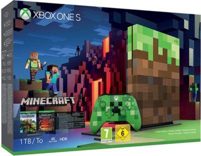 Microsoft Xbox One S 1TB Minecraft Limited Edit...