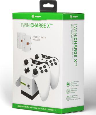 Ladestation snakebyte Twin:Charge X weiß (XONE)