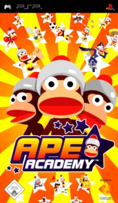 Ape Academy Platinum (PSP)