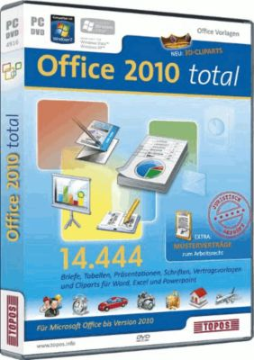 Office 2010 total (PC)