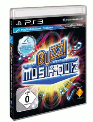 Buzz!: Das ultimative Musik-Quiz (PS3)