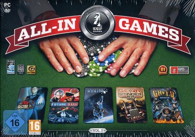 All-In Games Vol. 1 - 5 Spiele Compilation (PC)