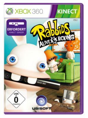 Rabbids - Alive and Kicking (Kinect) (X360)