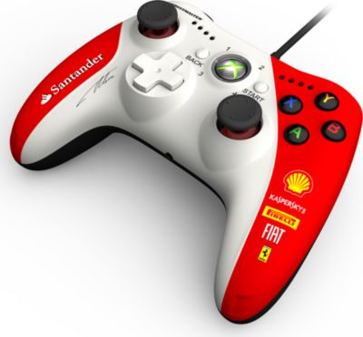 Joypad Thrustmaster GPX LightBack Ferrari F1 Edition (X360 PC)