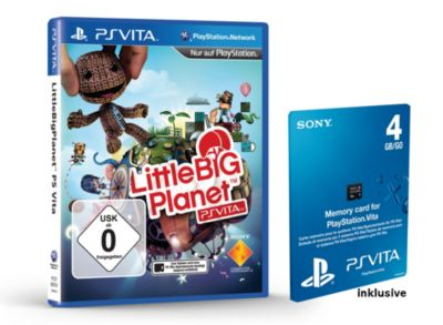 Little Big Planet inkl. 4 GB Sony Memory Card (...