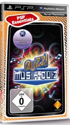 Buzz! Das ultimative Musik-Quiz Essentials (PSP)