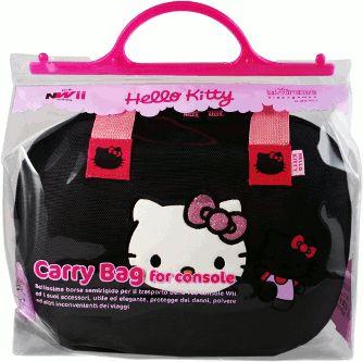 Tasche Extreme Hello Kitty Schwarz (WII)