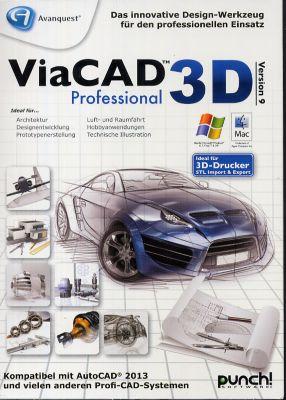 ViaCAD 3D 9 Professional (PC MAC)