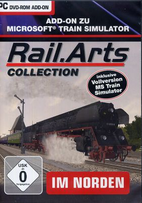 RailArts Collection - Im Norden MSTS + 3 Streck...