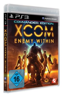 X-Com Enemy Within - Commander Edition (PS3) 1422942000