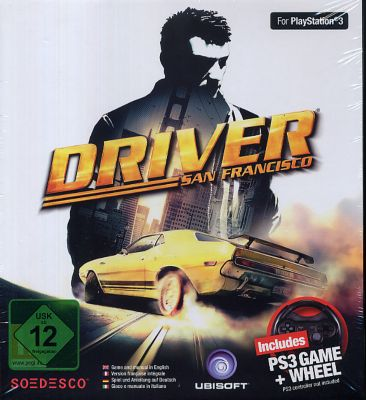 Driver San Francisco Bundle (inklusive Lenkrad)...