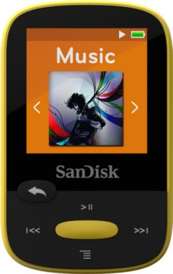 MP3 Player 4GB SanDisk Clip Sports Gelb (PS3)