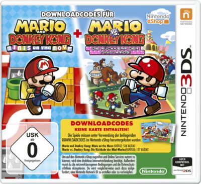Mario & Donkey Kong: Move & March (DLC only) (3DS)