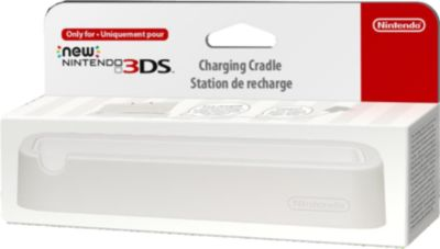 Nintendo New 3DS Ladestation in Weiss (3DS)