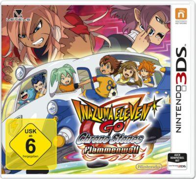 Inazuma Eleven GO Chrono Stones: Flammenwall (3DS)