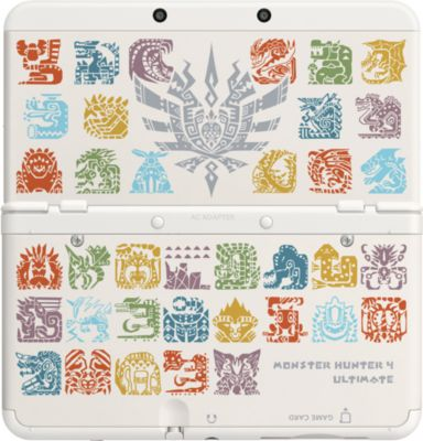 Zierblende Nintendo Cover Monster Hunter 4 Ulti...