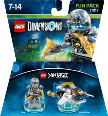 LEGO Dimensions Zane Fun Pack (LEGO Ninjago) (71217) (WIIU PS3 X360 PS4 XONE)
