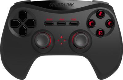 Joypad Speedlink Strike NX Gamepad Wireless für PS3 schwarz (PS3)