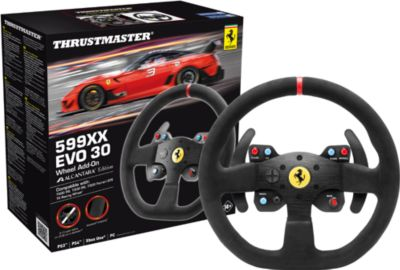 F599XX EVO 30 Wheel AddOn Alcantara Edition (T300/T500) (PS4 PS3 PC XONE)