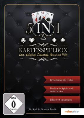 5 in 1 - Kartenspielebox (PC) 1642460000