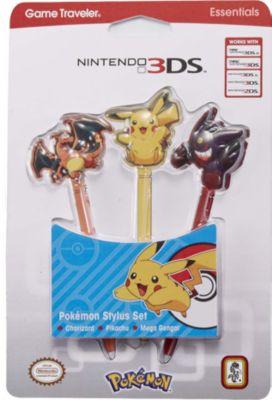 Stylus BigBen Pokémon Stylus Set 3 Stück (3DS)