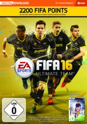 Fifa 16 2200 Ultimate Team Punkte (DLC Only) (PC)