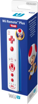 Nintendo WiiU Remote Plus Toad Edition (WIIU WII)