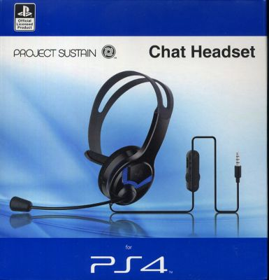 Sustain MW4011 Chat Headset (Mono) (PS4)