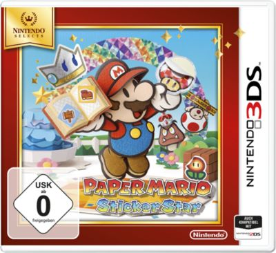 Paper Mario: Sticker Star Selects (3DS)