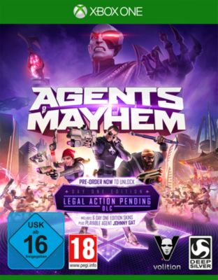Agents of Mayhem Day One Edition (XONE)