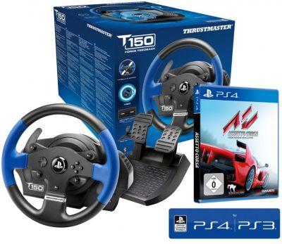Lenkrad TM T150 RS inkl. Assetto Corsa (PS4)