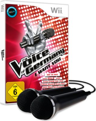 The Voice of Germany - I want you inkl. 2 Mikro...