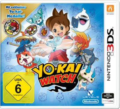 Yo-Kai Watch Special Edition inkl. Medaille (3DS)