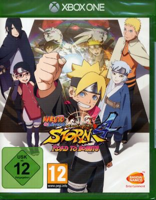 Naruto Shippuden Ultimate Ninja Storm 4: Road t...