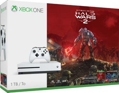 Microsoft Xbox One S 1TB inkl. Halo Wars 2 (XONE)