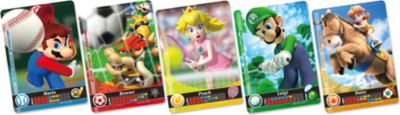 amiibo-Karten Mario Sports Superstars 5 Stück (...