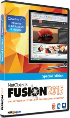 NetObjects Fusion 2015 Special Edition (PC)