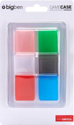 Leerhüllen BigBen Game Case Set farblich sortie...
