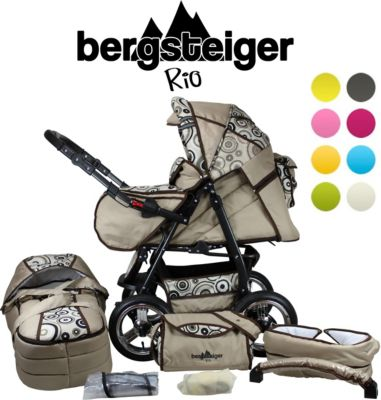 Kombi Kinderwagen Bergsteiger RIO