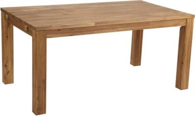 Rustikaler Holztisch 160x90 cm Natur bei Plus Online Shop