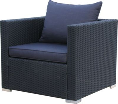 Lounge Sessel Pepe Schwarz