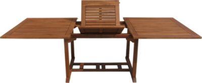Gartentisch Cuba 180-240x110cm Akazienholz ausziehbar