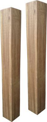 Tischbein 2er Set Akazie 74cm