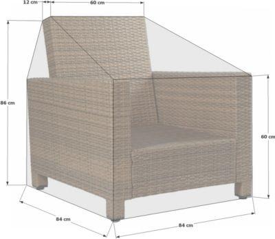 Schutzhülle zu Lanzarote Lounge Sessel