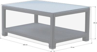 Schutzhülle zu Pepe Lounge Tisch Premium